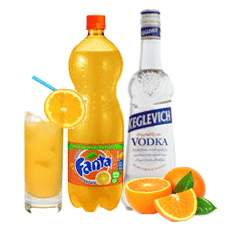 vodka.-ORANGE